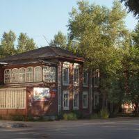 House on Shtabnaya street, Минусинск
