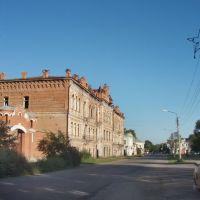 Oktyabrskaya street, Минусинск