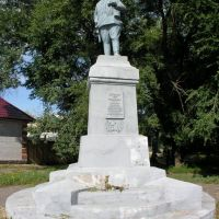 Monument to leaders of the guerrilla movement Petr Shchetinkin, Минусинск