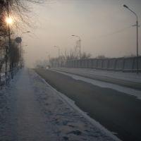 Мост через Минусинскую протоку, Минусинск