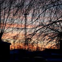 вечерний город, Назарово