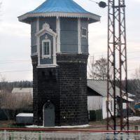 Водонапорная башня, станция Ингашская, 11.04.2014, Нижний Ингаш