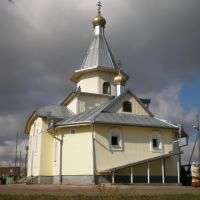 Крестовоздвиженский храм в Новоселово, Новоселово