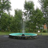 фонтан в парке отдыха, Новоселово