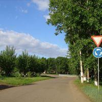 ул. Театральная и кольцо, Новоселово