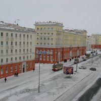 из окна ленинский,13, Норильск