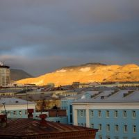 Полярный день (2 часа ночи), Норильск