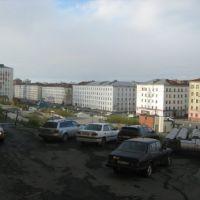 Вид но Комсомольскую и Дом Быта 2010 (by Aleksandr Ponomarenko), Норильск