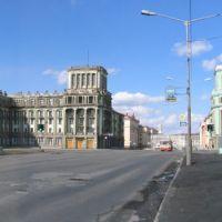 Въезд в Норильск, Норильск