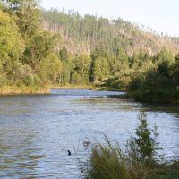 река Кан, Партизанское