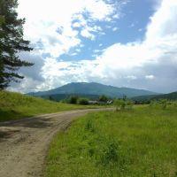 Вид на Кутурчинское Белогорье, Партизанское
