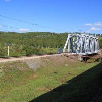 4275-й км Транссиба. Мост через р. Большая Камала, Партизанское