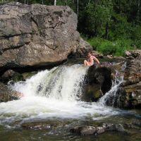 Малый водопад, Партизанское