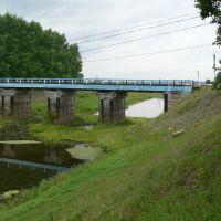 Протока Енисея в Стрелке, Пировское