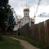 Строительство храма, Пировское