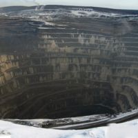 Vostochnyi karier Olympiadinskogo GOKa, Северо-Енисейский