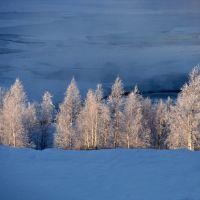 Утро на берегу реки Енашимо (Morning on the River Enashimo), Северо-Енисейский