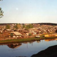Тасеево, речка Усолка. Май2002, Тасеево