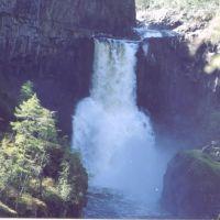 Водопад на р.  Ядун, Таштып