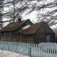 Старый дом. Old house., Туруханск
