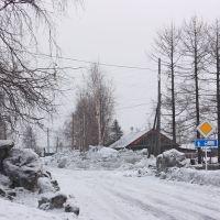 Много снега., Туруханск