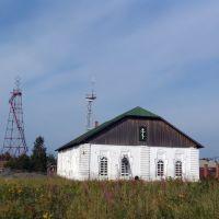 Church in Turukhansk. Церковь в Туруханске., Туруханск