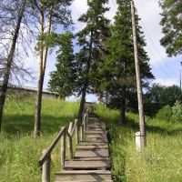 Лестница в Сосновом бору, Тюхтет