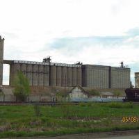 Grain elevator, Ужур