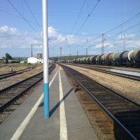 """Станция """"Уяр"""". Перрон, Уяр"""