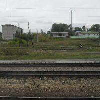 На станции Уяр, Уяр