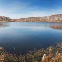 Озеро в Уяре, осень 2011, Уяр