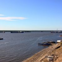 Морской порт Хатанга., Хатанга