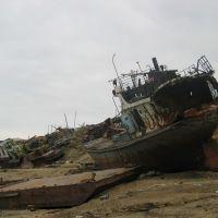 Хатанга. Речной флот готов к эксплуатации, Хатанга
