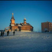 KHATANGA -52°C Arctique Russie © René Robert, Хатанга
