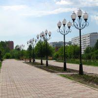Сосновоборск. Центральная площадь, Сосновоборск