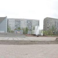 Панорама центральной площади Сосновоборска, Сосновоборск