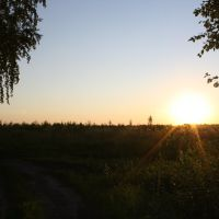 Sonnenuntergang in Vargashi, Варгаши
