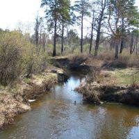 Река Ик (Eek River), Глядянское