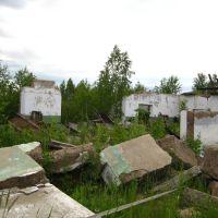 Бывшая воинская часть, Глядянское