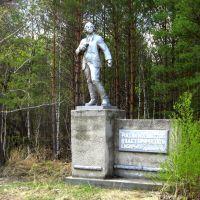 Памятник Ломоносову / Lomonosov monument, Глядянское