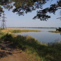 Salty lake, Глядянское