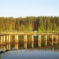 Мост на дамбе, Глядянское