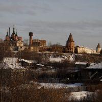 Далматово, монастырь 17 века, Далматово