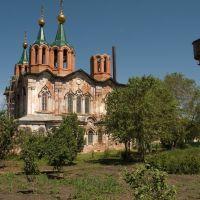 RU Курганская обл., г. Далматово Монастырь Храм, Далматово