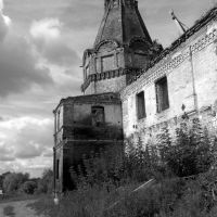 Мой взгляд ! Далматово монастырь 2009г южная башня!, Далматово
