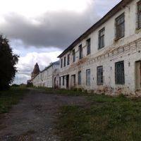 Мой взгляд ! Далматово монастырь 2009г вид от восточной башни на южную!!!, Далматово