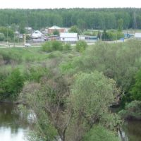 Вид на Ильинское, Катайск