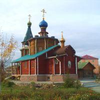 Катайск, деревянный храм., Катайск