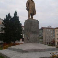 Катайск, Ленин с кепкой в руке., Катайск