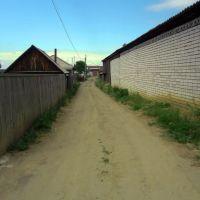 Проулок от ул. Боровая на ул. Солнечная, Кетово